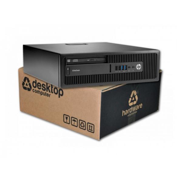 HP EliteDesk 800 G1 Intel Core i5 4590 3.3 GHz. · 8 Gb. DDR3 RAM · 500 Gb. SATA · DVD-RW · Windows 7 Pro - Imagen 1