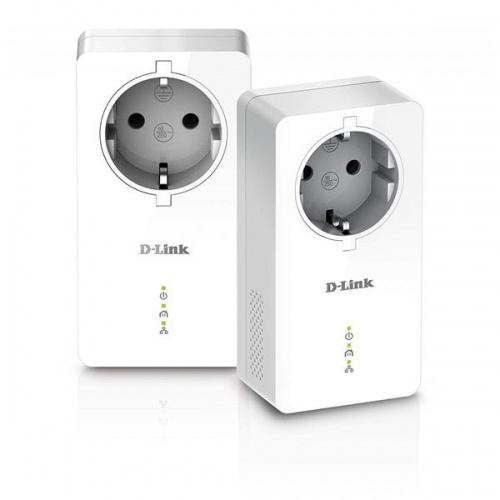 ADAPTADOR POWERLINE AV2 1000HD D-LINK 2UDS