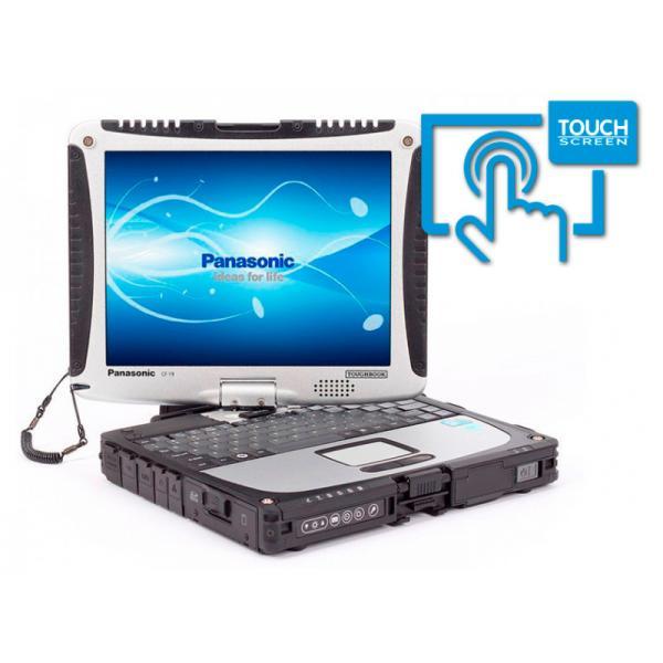Panasonic Toughbook CF-19 MK5 Intel Core i5 2520M 2.5 GHz. · 4 Gb. SO-DDR3 RAM · 320 Gb. SATA · Teclado internacional con pegati