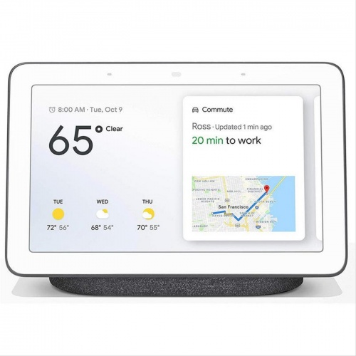 GOOGLE NEST HUB CHARCOAL 2ND GEN