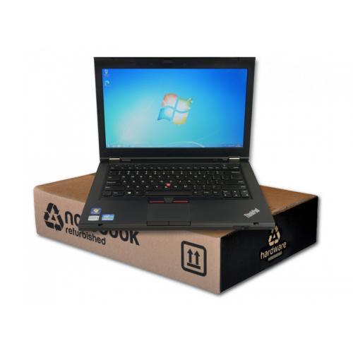 Lenovo ThinkPad T430 Intel Core i5 3320M 2.6 GHz. · 8 Gb. SO-DDR3 RAM · 500 Gb. SATA · DVD-RW · Windows 7 Pro · TFT 14 '' HD 16
