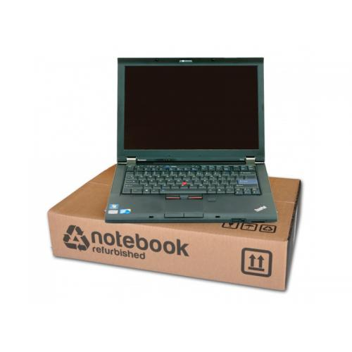 Lenovo ThinkPad T420s Intel Core i7 2640M 2.8 GHz. · 8 Gb. SO-DDR3 RAM · 160 Gb. SSD · DVD-RW · Teclado internacional con pegati