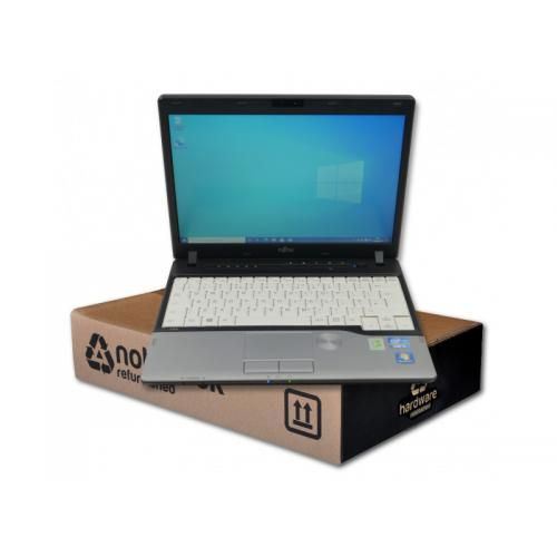 Fujitsu Lifebook P702Intel Core i5 3340M 2.7 GHz. · 8 Gb. SO-DDR3 RAM · 128 Gb. SSD · Teclado internacional con pegatinas en
