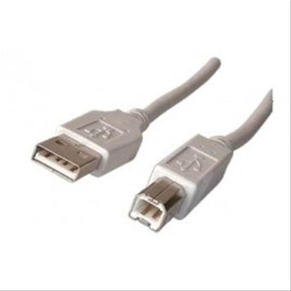 CABLE USB 2.0 IMPRESORA A/M-B/M 3M BULK