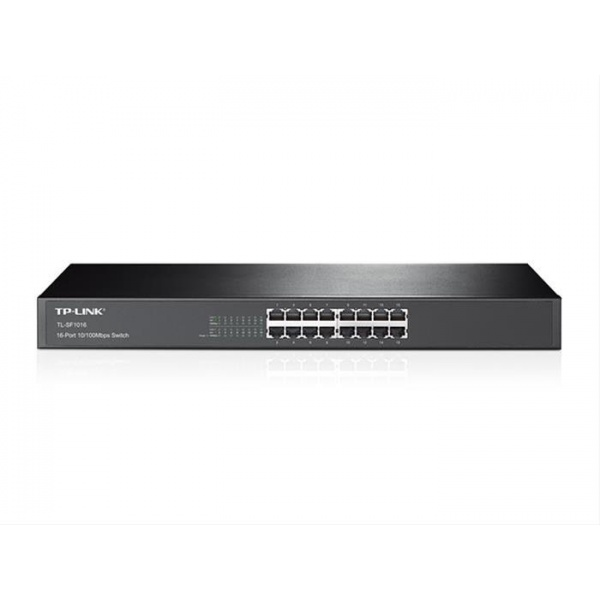 SWITCH 16 PUERTOS 10/100 TP-LINK RACK