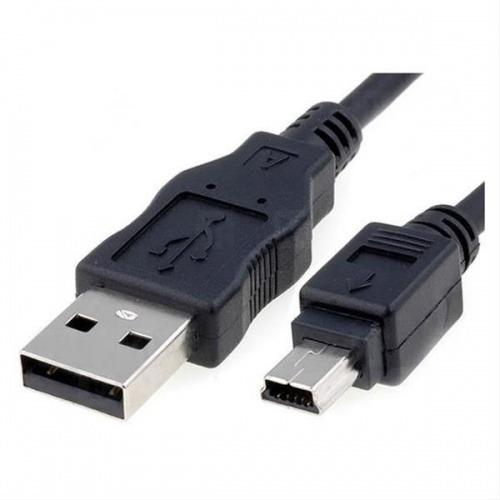 CABLE USB 2.0 A/M-MINI USB B/M 0.5M NEGRO NANOCABLE