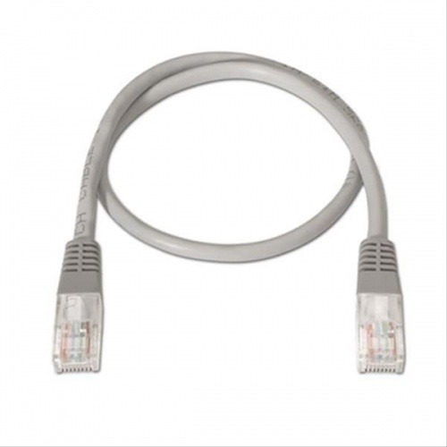 CABLE RED LATIGUILLO RJ45 CAT.6 UTP LSZH 1M GRIS NANOCABLE