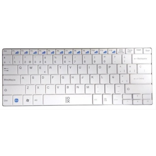 TECLADO SLIM MINI WIRELESS PRIMUX T2 BLANCO