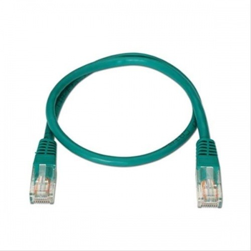 CABLE RED LATIGUILLO RJ45 CAT.5E UTP AWG24,2M VERDE NANOCABLE