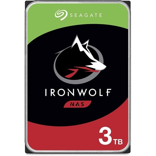 SEAGATE IRONWOLF 3TB NAS 3.5IN·