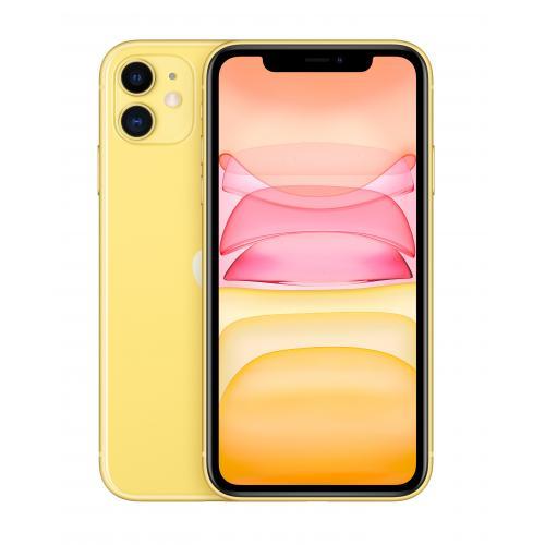 """iPhone 11 15,5 cm (6.1"""") SIM doble iOS 14 4G 64 GB Amarillo - Imagen 1"""