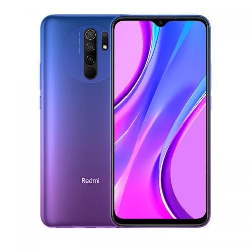 "Redmi 9 16,6 cm (6.53"") SIM doble 4G USB Tipo C 4 GB 64 GB 5020 mAh Púrpura"