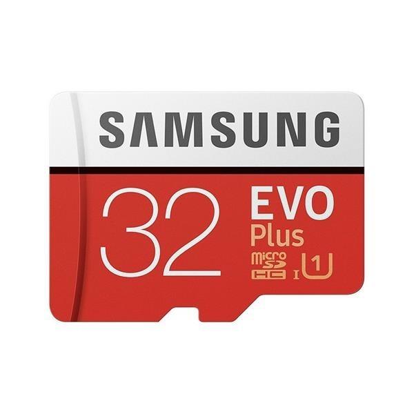 MEMORIA MICRO SD 32GB EVO+ SAMSUNG CLASE 10+ADAPTADOR
