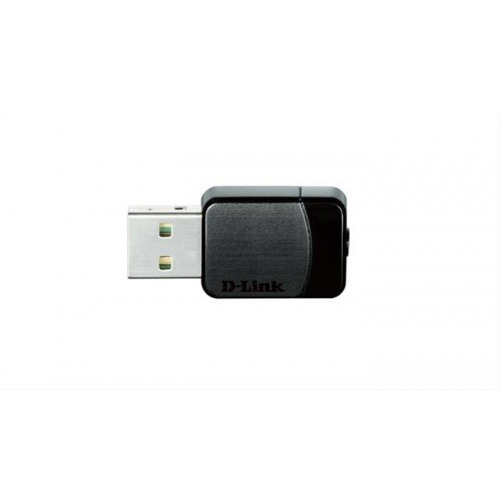 ADAPTADOR USB NANO WIRELESS AC600 DUAL BAND D-LINK