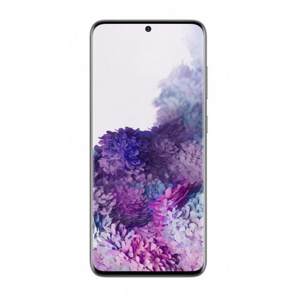 "Samsung Galaxy S20 SM-G980F 15,8 cm (6.2"") Android 10.0 4G USB Tipo C 8 GB 128 GB 4000 mAh Gris - Imagen 1"