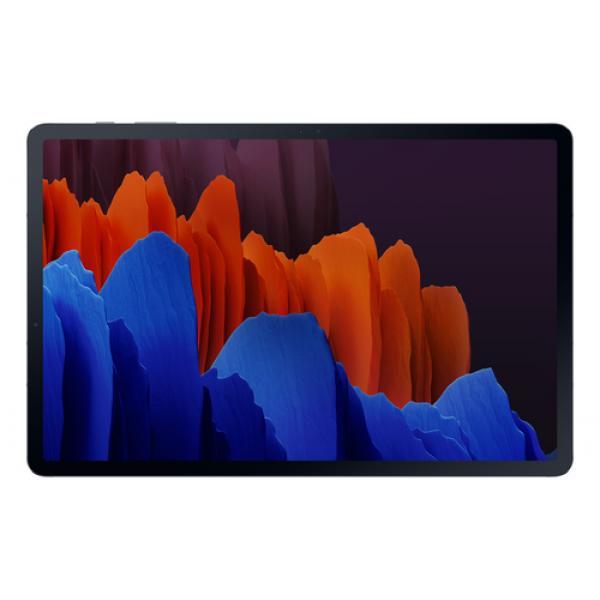 "Samsung Galaxy Tab S7+ 5G SM-T976B LTE 128 GB 31,5 cm (12.4"") Qualcomm Snapdragon 6 GB Wi-Fi 6 (802.11ax) Android 10 Negro - Ima"