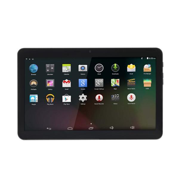 """TAQ-10423L tablet 4G LTE 16 GB 25,6 cm (10.1"""") 1 GB Wi-Fi 4 (802.11n) Android 8.1 Go edition Negro - Imagen 1"""