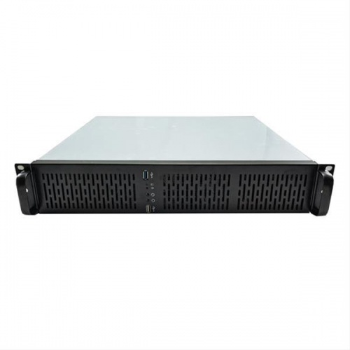 "CAJA RACK 19"" 2U UNYKA 2129 GREY/BLACK USB 3.0"