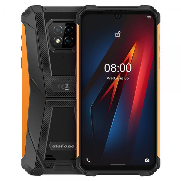 """Armor 8 15,5 cm (6.1"""") SIM doble Android 10.0 4G USB Tipo C 4 GB 64 GB 5580 mAh Naranja - Imagen 1"""