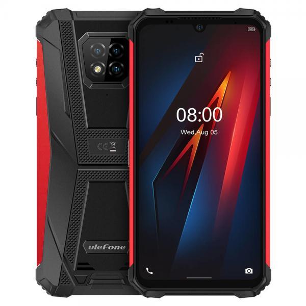 "Armor 8 15,5 cm (6.1"") SIM doble Android 10.0 4G USB Tipo C 4 GB 64 GB 5580 mAh Rojo - Imagen 1"