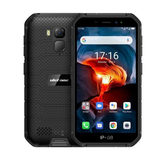 "Armor X7 Pro 12,7 cm (5"") 4 GB 32 GB SIM doble 4G MicroUSB Negro Android 10.0 4000 mAh - Imagen 1"