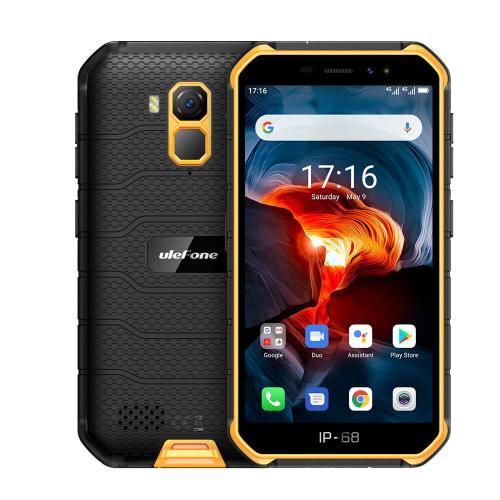 "Armor X7 Pro 12,7 cm (5"") 4 GB 32 GB SIM doble 4G MicroUSB Naranja Android 10.0 4000 mAh"
