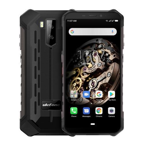 "Armor X5 14 cm (5.5"") 3 GB 32 GB SIM doble 4G MicroUSB Negro Android 9.0 5000 mAh"