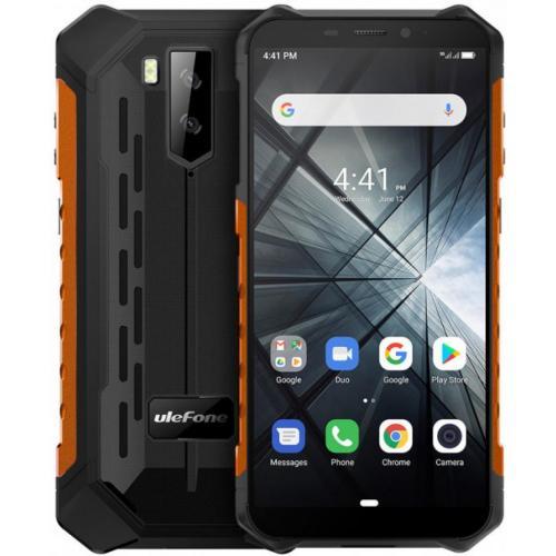 "Armor X5 14 cm (5.5"") SIM doble Android 10.0 4G MicroUSB 3 GB 32 GB 5000 mAh Negro, Naranja"