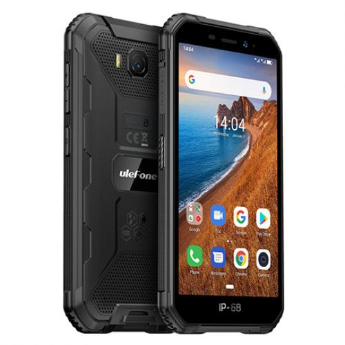 "Armor X6 12,7 cm (5"") 2 GB 16 GB SIM doble 3G MicroUSB Negro Android 9.0 4000 mAh"