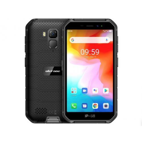 "Armor X7 12,7 cm (5"") 2 GB 16 GB SIM doble 4G MicroUSB Negro Android 10.0 4000 mAh"
