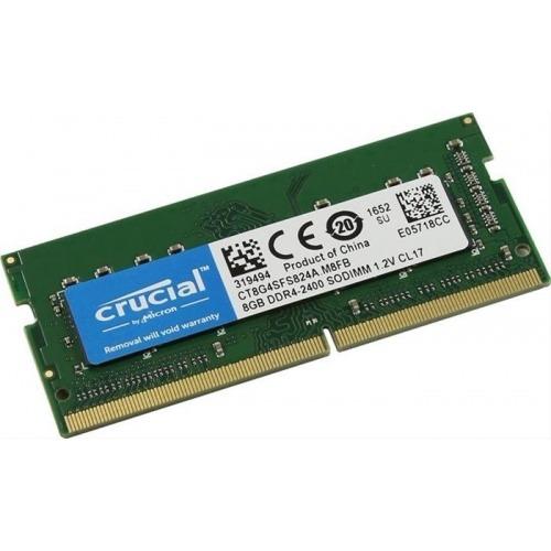 MODULO SODIMM DDR4 8GB 2400MHZ CRUCIAL SINGLE