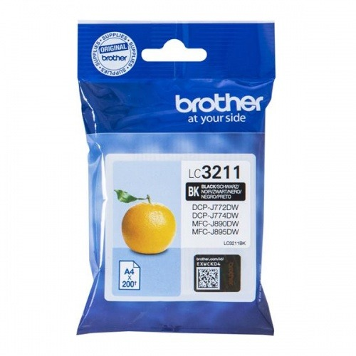 CARTUCHO TINTA BROTHER LC3211 BLACK