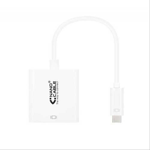 CABLE CONVERSOR USB-C A HDMI 4K BLANCO 15CM