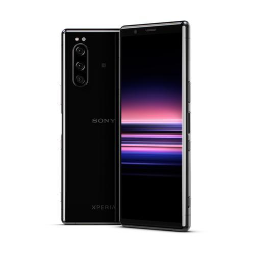 "Sony Xperia 5 15,5 cm (6.1"") Android 9.0 4G USB Tipo C 6 GB 128 GB 3140 mAh Negro - Imagen 1"