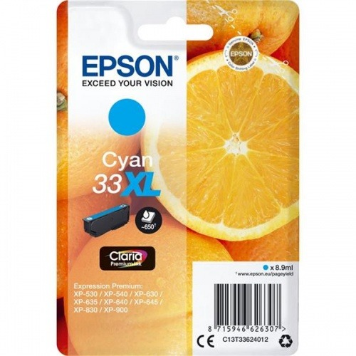 TINTA EPSON 33XL CIAN·