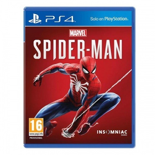 VIDEOJUEGO PARA PS4 MARVEL SPIDER-MAN