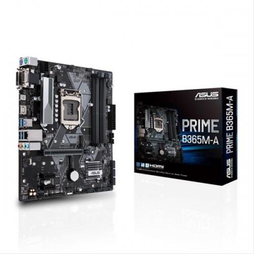 PLACA i3/i5/i7 ASUS PRIME B365M-A (S.1151) DDR4 GEN8 GEN9