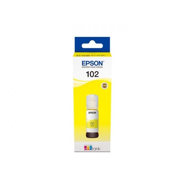 BOTELLA TINTA EPSON 102 YELLOW 70ML C13T03R440