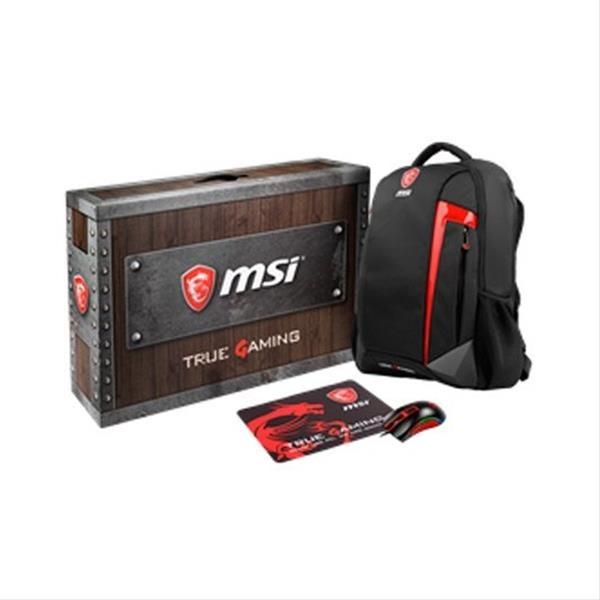 PACK MSI LOOT BOX GE/GS RTX GAMING Mochila/Ratón/Alfombrilla