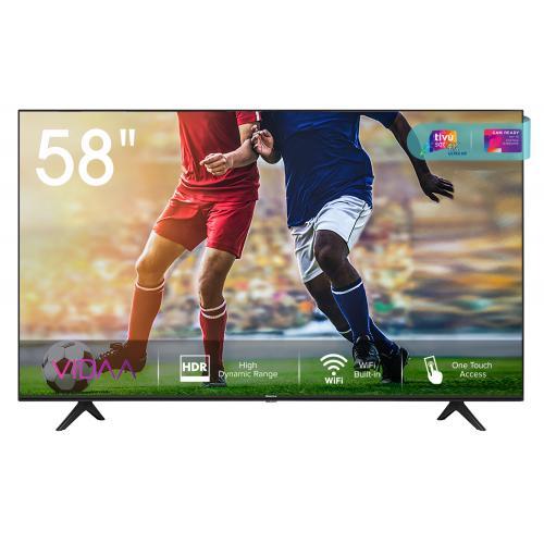 "A7100F 58A7100F Televisor 146,1 cm (57.5"") 4K Ultra HD Smart TV Wifi Negro"