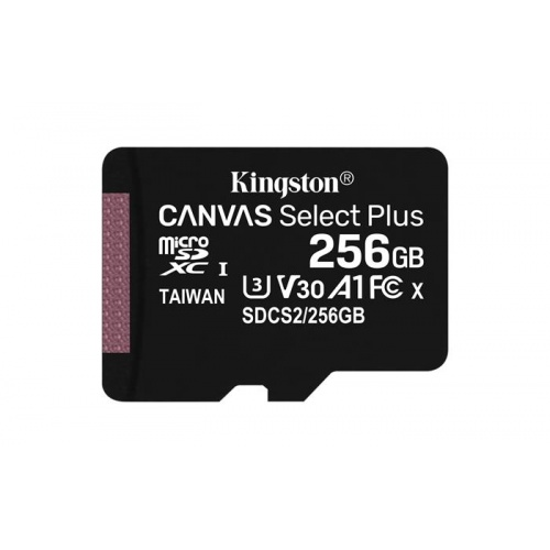MEMORIA MICRO SD 256GB KINGSTON CANVAS SELECT PLUS KI·