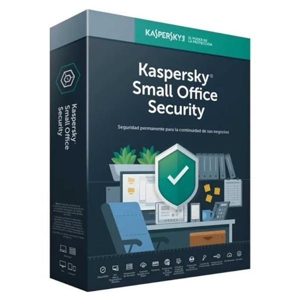 ANTIVIRUS KASPERSKY SMALL OFFICE SECURITY 10 PCS/MOVILES + 1 SERVIDOR