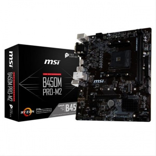 PLACA BASE MSI B450M PRO-M2 MAX AM4 DDR4