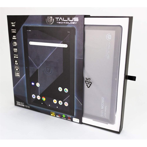 "TABLET TALIUS ZIRCON 1016 10.1"" 4G(LTE) 4GB 64GB AND9.0"