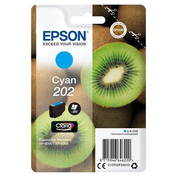 TINTA EPSON 202 CYAN 4.1ML