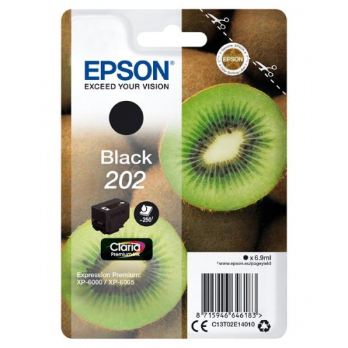 TINTA EPSON 202 BLACK 6.9ML