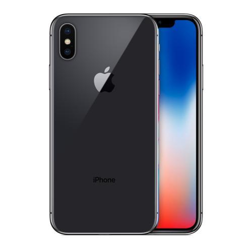 "Apple iPhone X 14,7 cm (5.8"") SIM única iOS 11 4G 64 GB Gris Renovado"