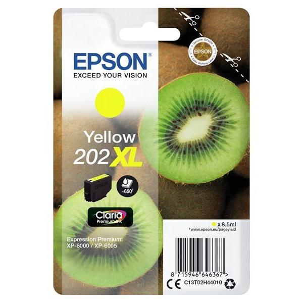 TINTA EPSON 202 YELLOW XL