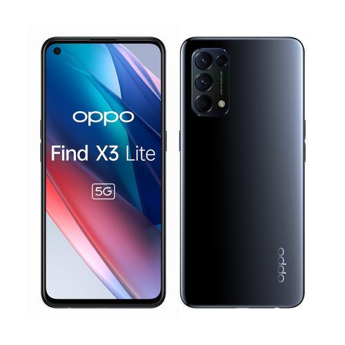 """OPPO Find X3 Lite 16,3 cm (6.43"""") SIM doble ColorOS 11.1 5G USB Tipo C 8 GB 128 GB 4300 mAh Negro"""