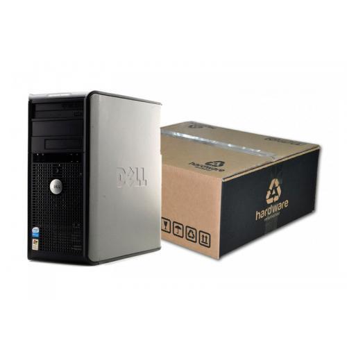 Dell Optiplex GX620 Torre Intel Pentium D 2.8 GHz. · 2 Gb. DDR2 RAM · 80 Gb. SATA · DVD · Ubuntu GNU/Linux